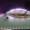 THETA 360写真でみる 「夜の大井競馬場」 #360pic