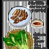 宇都宮の餃子と戸隠のザル