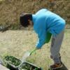 〈ゆぅら〉ゆぅら畑 ~ほうれん草と水菜の収穫~