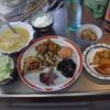幸運な病のレシピ( 1001 )夜:豚キムチきんぴら、餃子の皮のピザ(先日のトマトスープ)、汁(仕立て直)