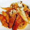 小海老とムキ浅利の和風パスタ|粗びきソーセージと茄子のトマトパスタ 札幌のイタリアン