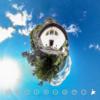 スイス 岩壁に建つ美しい教会 #360pic