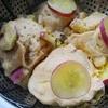 カボチャ祭りに対抗して、秋のイモ祭り~