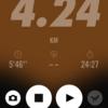 2018/02/12のトレーニング(ラン4.2km&自重トレ)