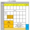 【中学部】テスト対策の日程