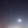 国際宇宙ステーション(ISS)の軌跡 2017年9月25日