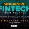 Singapore FinTech Festival 2018でのNEM