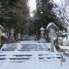 高速バスで行く冬の飛騨路・アニメ『氷菓』の聖地巡礼(その3・了・日枝神社)2014年1月16日