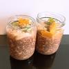 ヴィーガン🌱朝ご飯やおやつに!栄養豊富なチアオーツプディング
