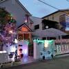大阪の住宅街・文の里で「フミナリエ」がライトアップしてます