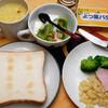 朝食:食パンを食べなくては…