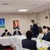 自民党政調外交部会外交調査会合同会議に出席