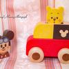 Disney KIDEA PUSH CAR ミッキーマウス*2018年3月