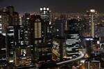 梅田スカイビル 空中庭園展望台の屋上回廊で360度見渡す大阪夜景!