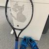 テニス激闘中