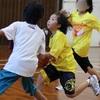 バスケ・ミニバス写真館43 一眼レフで撮影したバスケットボール試合の写真