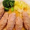 【作り置きおかずダイエット】ひき肉のソーセージ風、サワーキャベツのレシピ