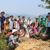 英語でハイキングというイベント「金華山ワンダフルイングリッシュ」