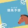 【競馬予想】アイビスサマーダッシュ、UHB杯