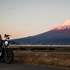 富士山と静岡おでんツーリング