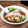 【2月の営業案内あり】「季節の醤油ラーメン(牡蠣トッピング)」麺や 福座 (ふくぞ)