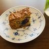 オーツ麦のブルーベリーパウンドケーキ