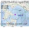 2017年09月02日 15時29分 苫小牧沖でM3.2の地震