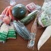 野菜と運動を補充する