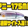 【アチック】ロール主体のビッグベイト「アニー175MR」通販サイト入荷!