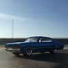 '67 Dodge Chargerに乗って、サラッと海まで。