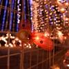 季節外れのクリスマスと夜景と
