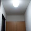 【玄関】明るくなりました!照明の力を借りてみる。昼光色LEDに取り換えました