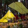 秋の伊奈ヶ湖で紅葉キャンプ/エコパ伊奈ヶ湖 グリーンロッジ