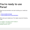 introduction to Backbone.js with Parse #jscafe