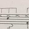 8beatベースドラムのパターン