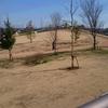 線路沿いの公園長~いの滑り台