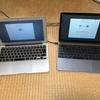 MacBookを買いました