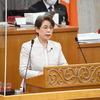 神山悦子県議の代表質問。「原発事故は人災」と知事が答弁