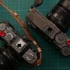 富士フィルムX-T30チャコールシルバーとX-Pro3DRブラックの色を比べるために買った話