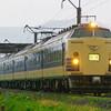 5月4日撮影 奥羽本線 大館~下川沿間 583系 弘前さくらまつり号
