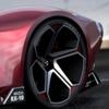 次世代ロータリースポーツ「Mazda Vision RX-10」をイメージしたデザインスケッチ。