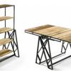 空間活用度が高いテーブルが棚に変身するダイニング・テーブル