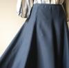 パターンは1枚。8枚接ぎのフレアースカート①
