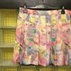 花柄スカート!