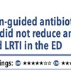 ACPJC 治療:プロカルシトニンガイドの抗菌薬処方は救急外来で下気道感染疑いの患者での抗菌薬使用を減らさなかった