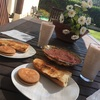 10日目🇪🇸シンプルな朝食を格別美味しく感じさせたのは異国の空気か、素材の味か。