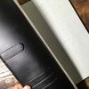 コレクト『ノートカバー本革調(合成皮革製)』水にも強い合革カバーで普通のノートが大人仕様に。