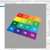 iOS で SceneKit を試す(Swift 3) その36 - Scene Editor の Material のテクスチャ設定