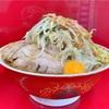 【 ラーメン二郎 越谷店 】非乳化!醤油と豚ダシがうまい。