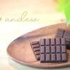 世界初の完全食チョコレートandew(アンジュ)をリリースします。